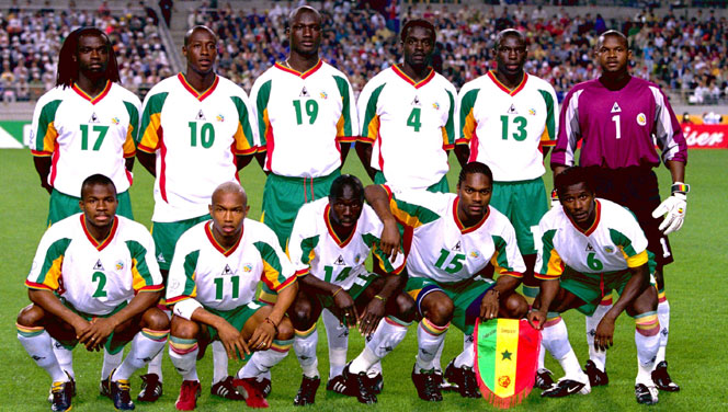 Equipe nationale du Sénégal à la coupe du monde 2002