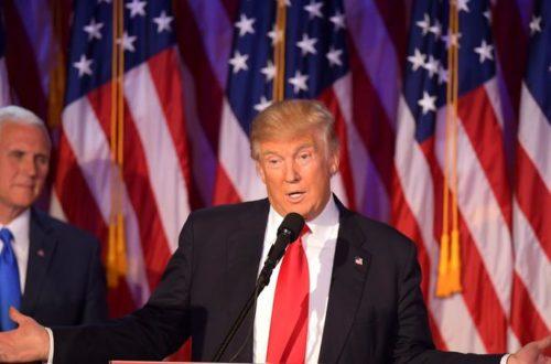 Article : Élection de Trump, une chance pour l'Afrique